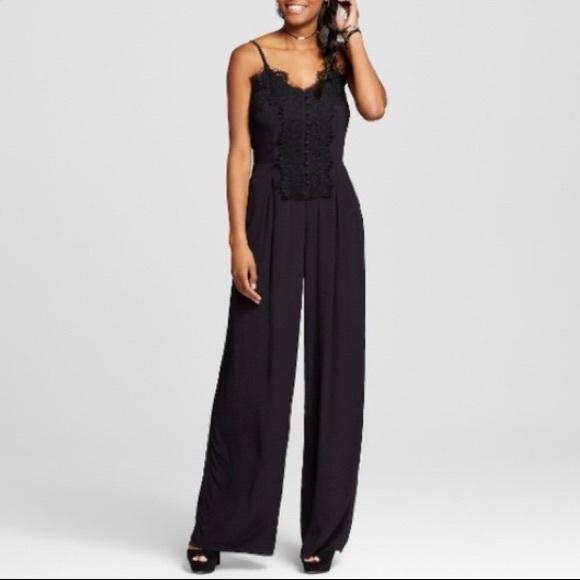 cb77b65eed8a Xhilaration Black Lace Jumpsuit. M 5b6e45ea6a0bb70708da7b5c